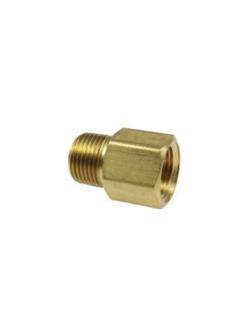 Coilhose Hex Adaptor, 1/4'' FPT x 1/4'' MPT C0404