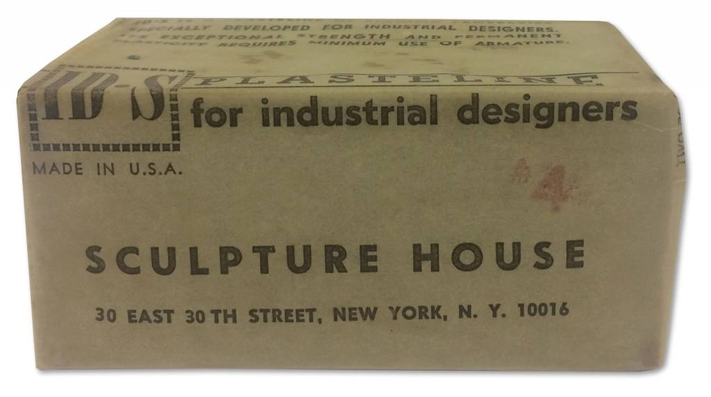 Sculpture House IDS Plastilene Sulphur Clay 2lb Block