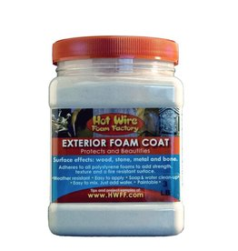 Hot Wire Foam Factory Exterior Foam Coat 3lb