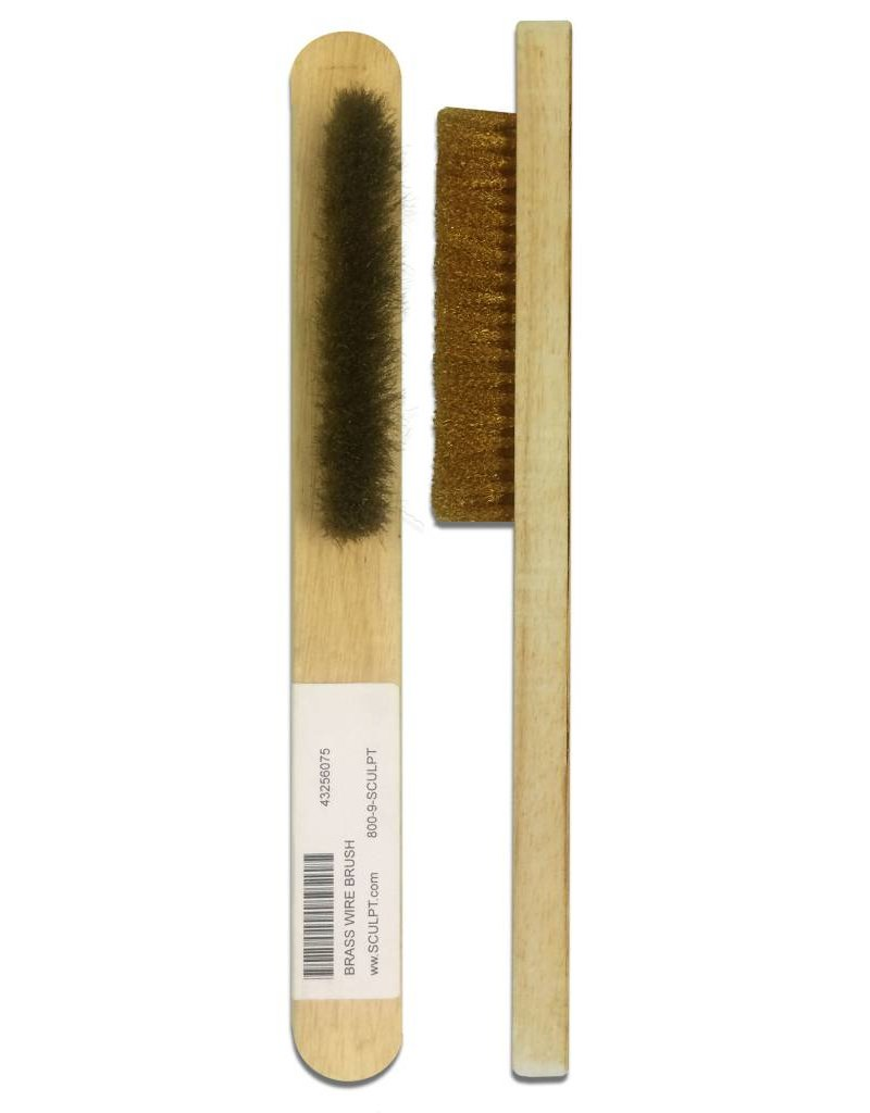 Brass Wire Brush Medium