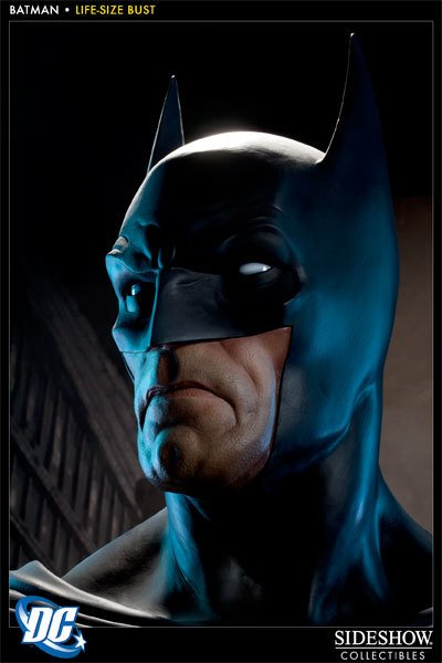 Sideshow Collectables Batman Lifesize Sideshow Bust