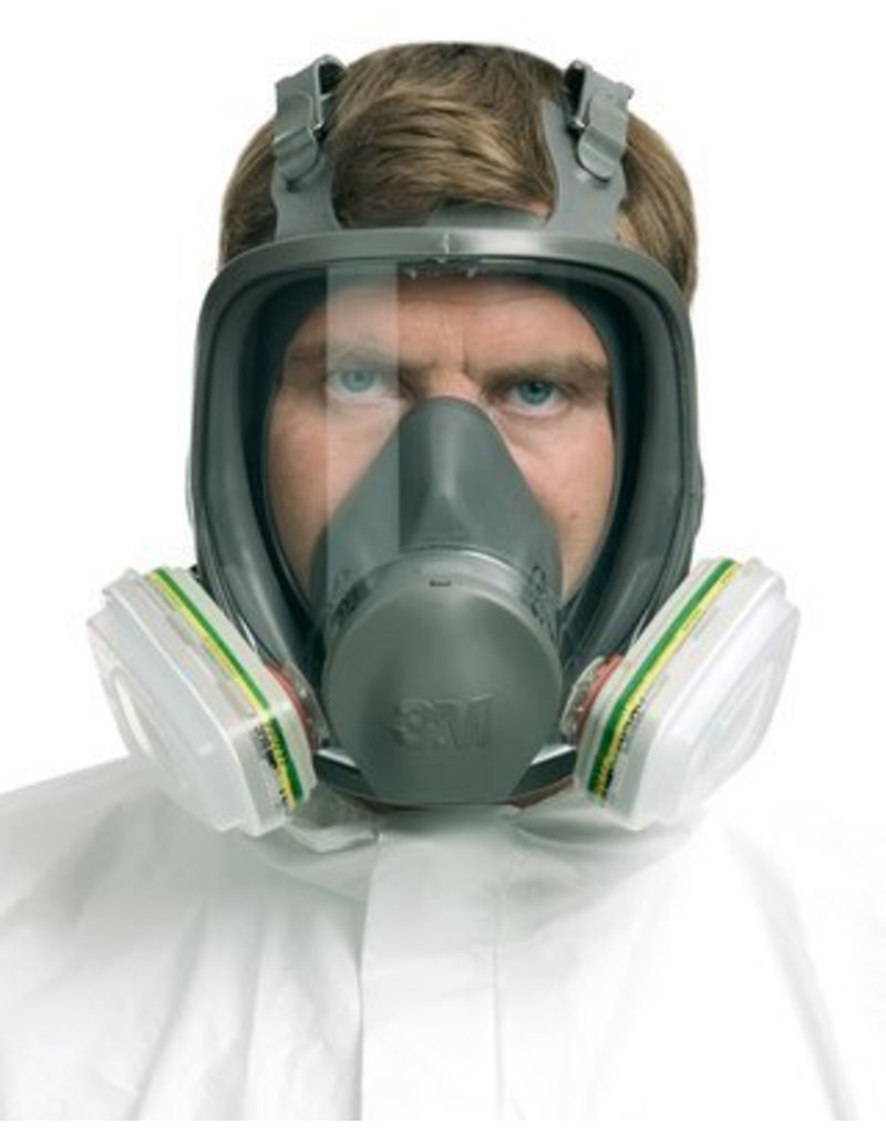 3M Full Mask Respirator Medium 6000 (No Cartridge)