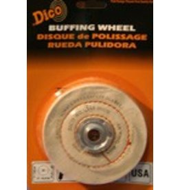 Dico Products Corp 4'' x 1/2'' Medium Cushion Buff 527-36-4