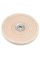 Dico Products Corp 6'' x 3/8'' Firm Spiral Buff 527-26-6