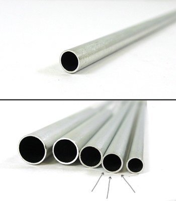 K & S Engineering Aluminum Tube 3/16''x.014''x12'' #8104