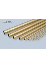 K & S Engineering Brass Tube 1/8''x.014''x12'' #8127