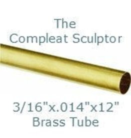 K & S Engineering Brass Tube 3/16''x.014''x12'' #8129