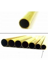 K & S Engineering Brass Tube 9/32''x.014''x12'' #8132