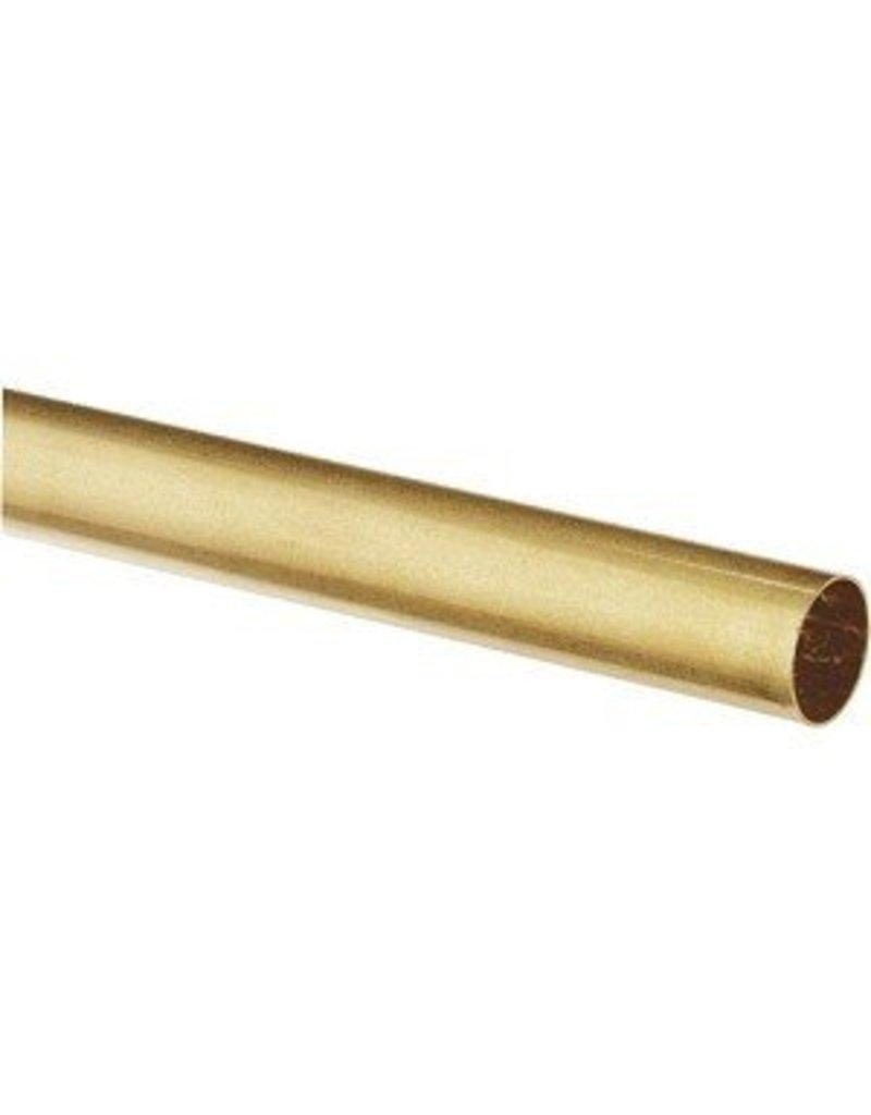K & S Engineering Brass Tube 13/32''x.014''x12'' #8136