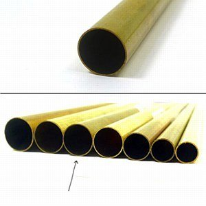 K & S Engineering Brass Tube 15/32''x.014''x12'' #8138