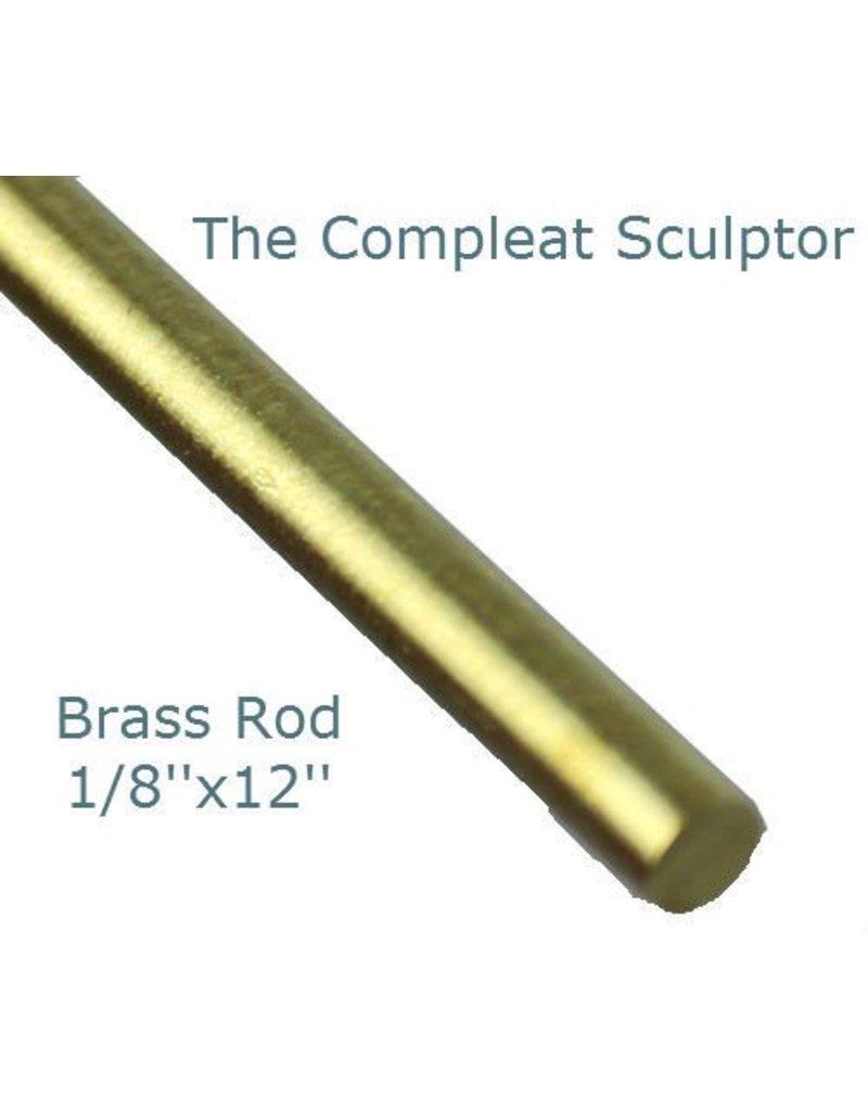 K & S Engineering Brass Rod 1/8''x12'' #8164