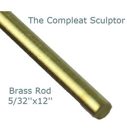 K & S Engineering Brass Rod 5/32''x12'' #8165