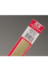 K & S Engineering Brass Strip .016''x3/4''x12'' #8233
