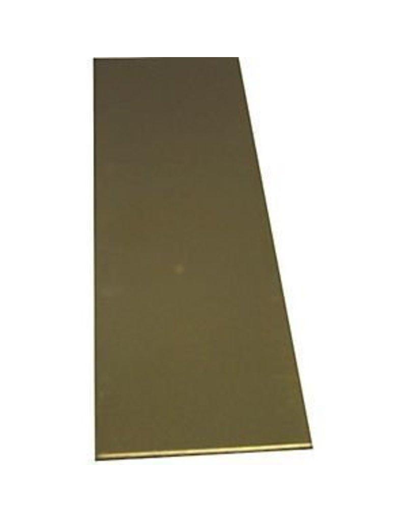 K & S Engineering Brass Strip .032''x1/2''x12'' #8241