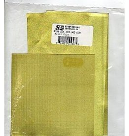 K & S Engineering Assorted Brass Sheets (4pcs) #258