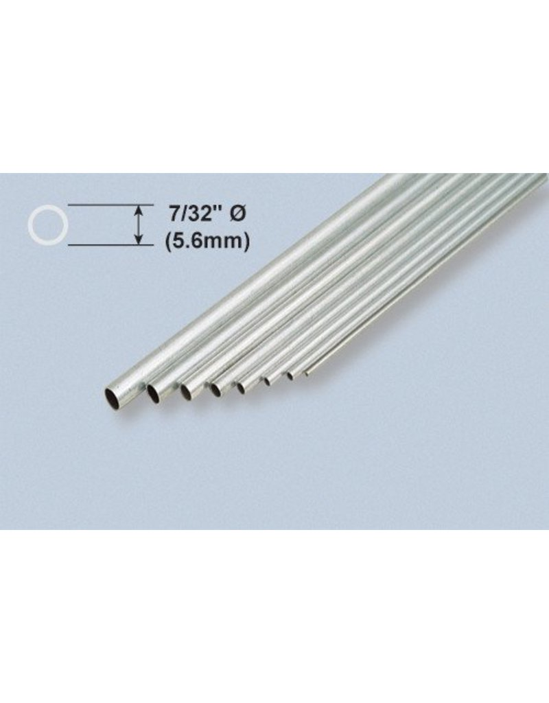 K & S Engineering Aluminum Tube 7/32''x.014''x36'' #1112