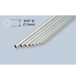 K & S Engineering Aluminum Tube 9/32''x.014''x36'' #1114