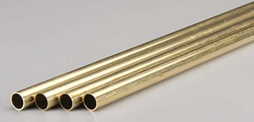 K & S Engineering Brass Tube 1/2''x.029''x36'' #9217