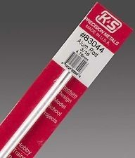 K & S Engineering Aluminum Rod 3/16''x12'' #83044
