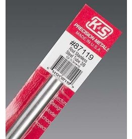 K & S Engineering Stainless Tube 3/8''x22Gx12'' #87119