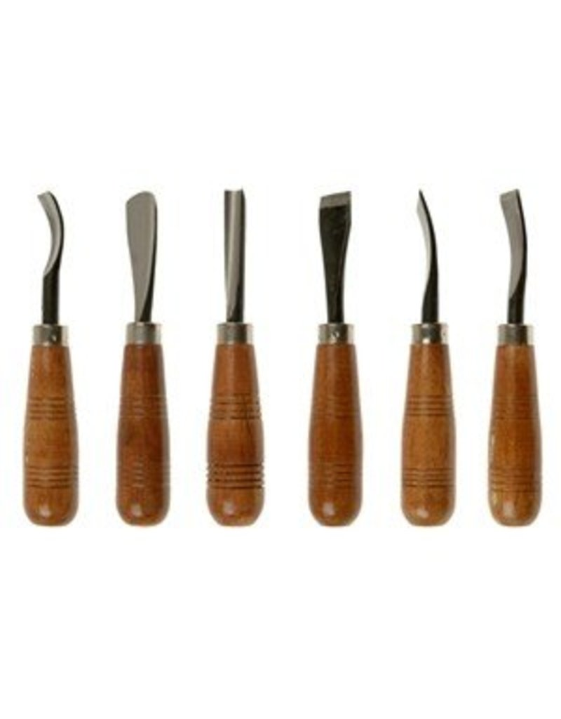 Sculpture House Heavy Duty Wood Carving Set