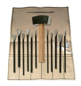 Sculpture House Inc. Professional Stone Carving Set 1AZ