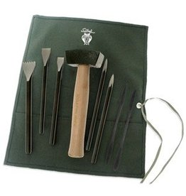 Sculpture House Inc. Alabaster Carving Set ACS