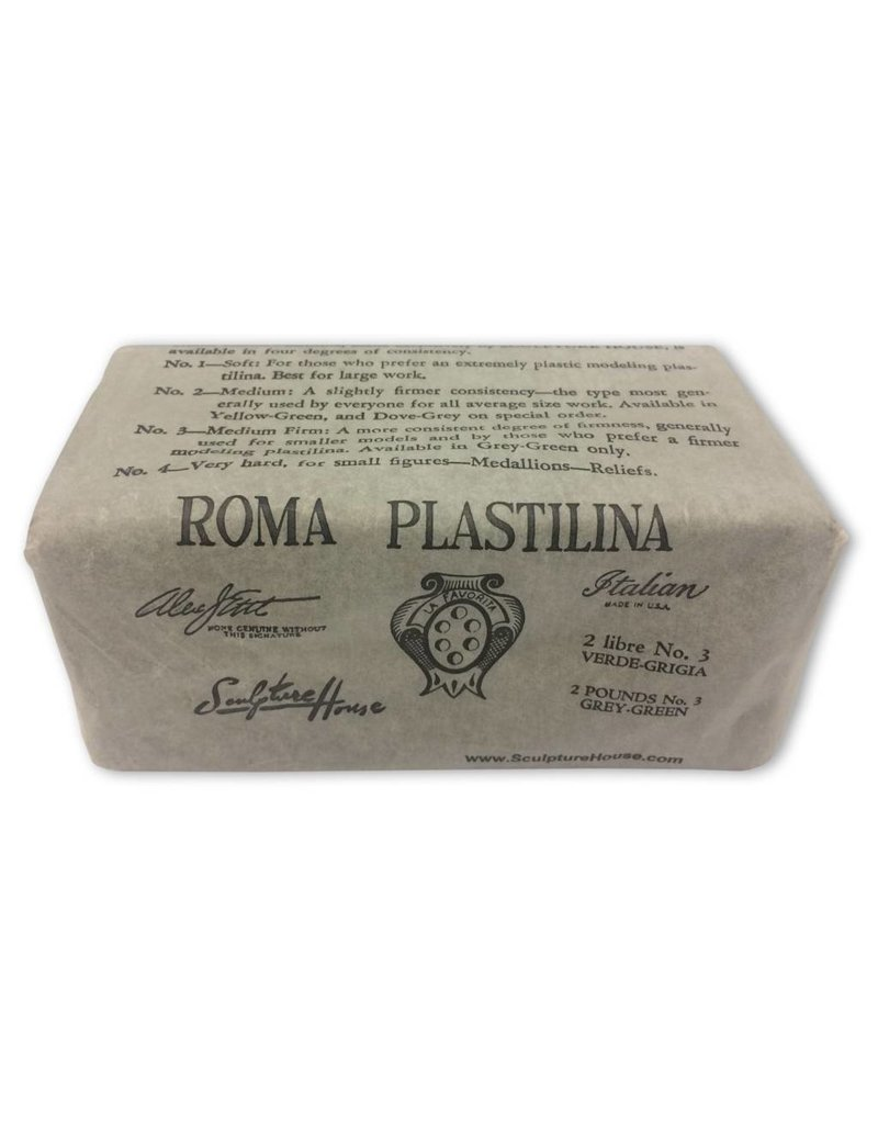 Sculpture House Inc. ROMA #3 Plastilina 2lb