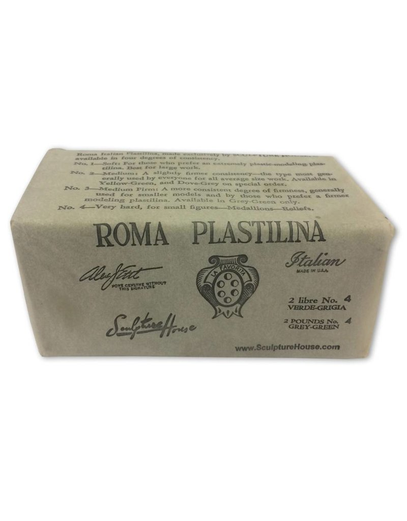 Sculpture House Inc. ROMA #4 Plastalina 2lb