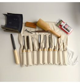 Sculpture House Inc. Advanced Wood Carving Tool Set K11