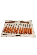 Sculpture House Inc. Advanced Wood Carving Hand Tool Set K1D