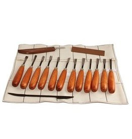 Sculpture House Advanced Wood Carving Hand Tool Set K1D