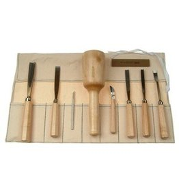 Sculpture House Inc. Basic Wood Carving Tool Set of 9 K5A