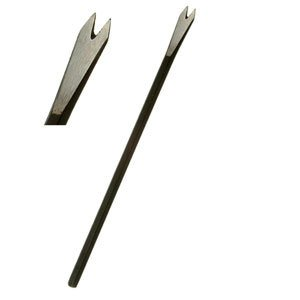 Sculpture House Steel Hand Mini 2 Tooth Chisel - 1/4""