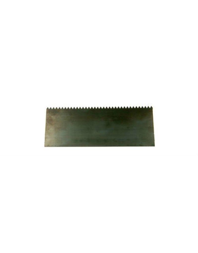 """Sculpture House Steel Scraper With Teeth 6"""" SBS2"""