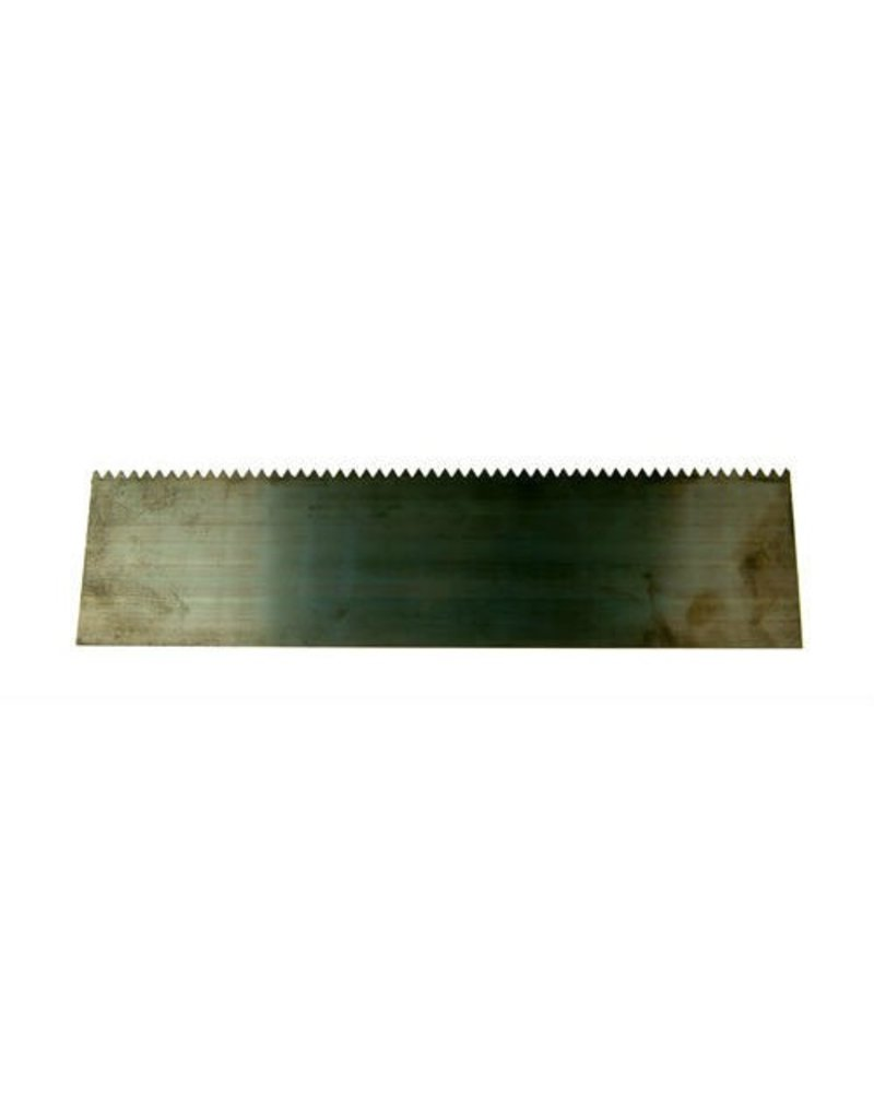 "Sculpture House Steel Scraper With Teeth 9"" SBS3"