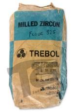 Ransom & Randolf Trebol Milled Zircon Flour 325 50lb Bag
