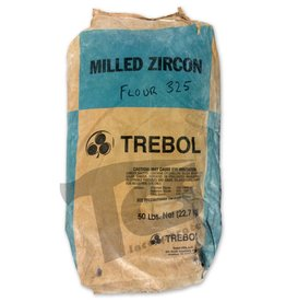 Ransom & Randolf Trebol Milled Zircon Flour 325 50lb Bag