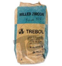 Ransom & Randolph Trebol Milled Zircon Flour 325 50lb Bag