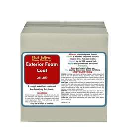 Hot Wire Foam Factory Exterior Foam Coat 25lb