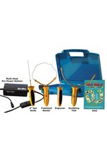 """Hot Wire Foam Factory K47 Pro 4-in-1 Kit (Freehand Router, Engraver, Sculpting Tool & 4"""" Hotknife)"""