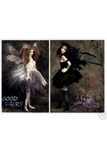 Sideshow Collectables Good Faery And Bad Faery Set