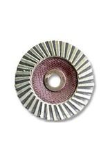 MOP 4'' Diamond Lapping Wheel 60Grit (5/8'' Arbor)