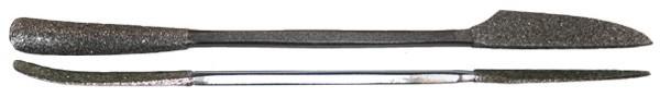 Milani Diamond Riffler #660 10'' (25cm)