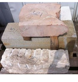 Mother Nature Stone Pale Grey Granite 34''x12''x12'' 410lb Stone