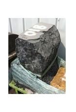 Mother Nature Stone Belgian Black Marble 28''x23''x20'' 810lb Stone