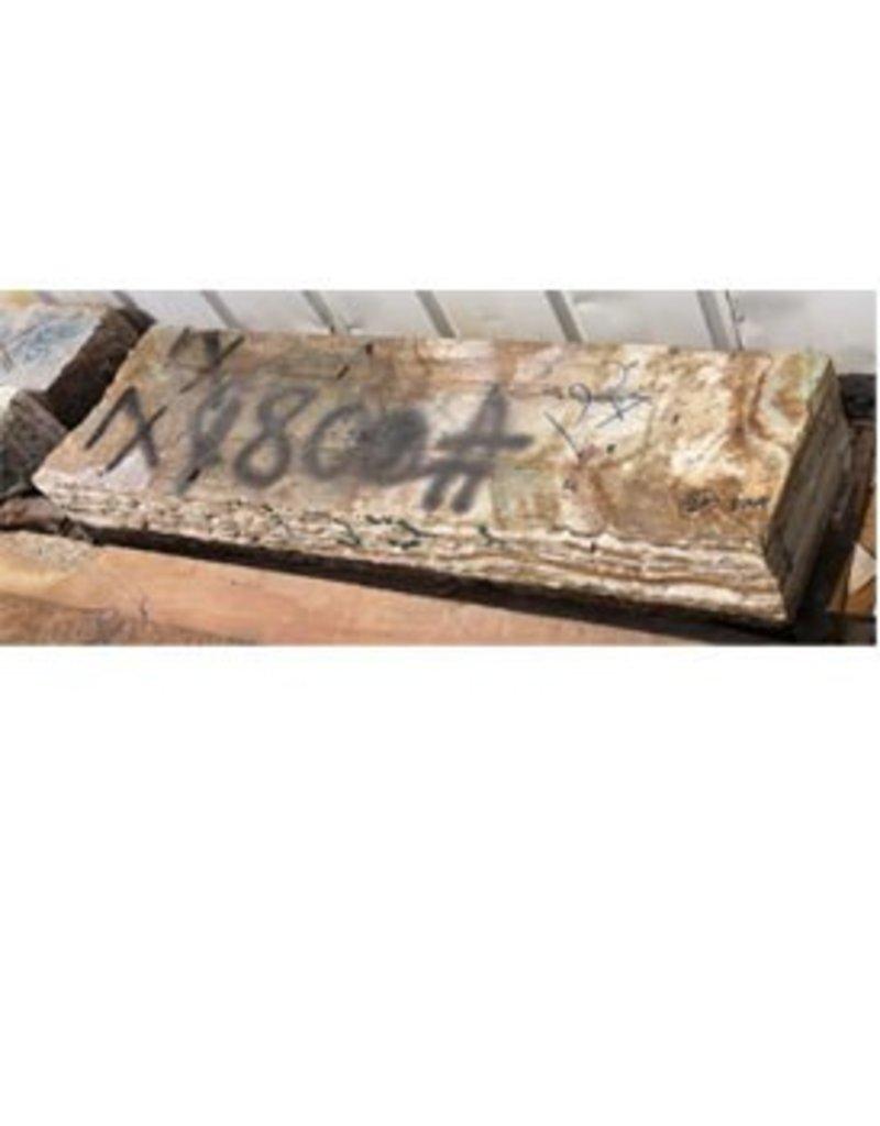 Stone Banded Onyx 56''x16''x8'' 800lb Stone