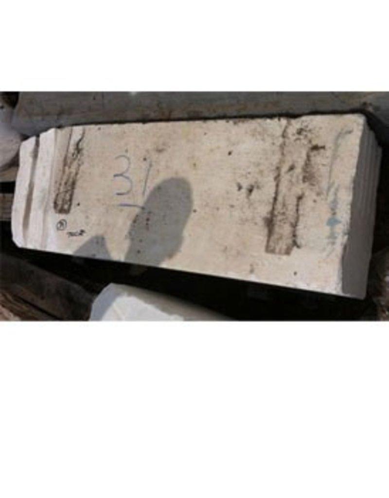 Stone White Marble 54''x16.5''x10.5'' 700lb Stone