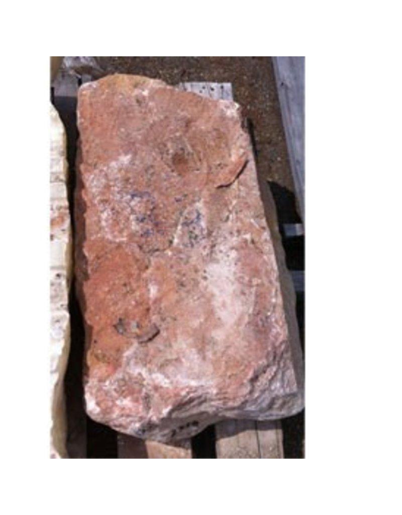 Stone 235lb Pink Sandstone 28''x17''x8''  Stone