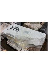 Stone White Marble 47''x21''x15'' 935lb Stone